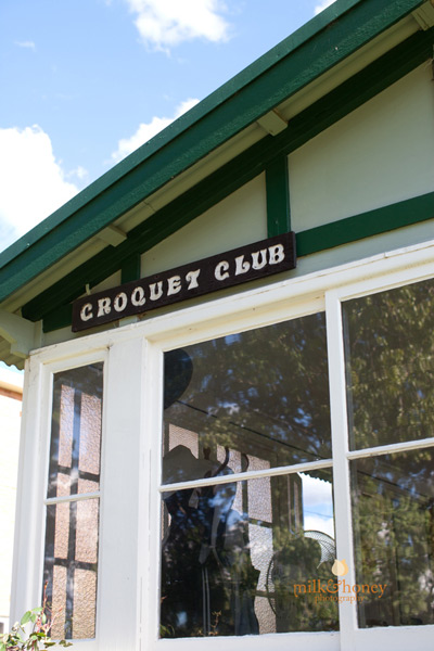 Cheltenham Croquet Club clubhouse