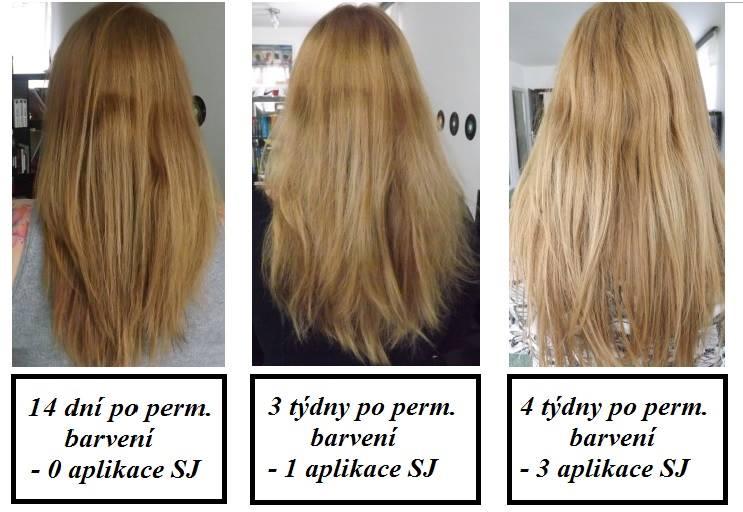 zesvětlující sprej na tmave vlasy
