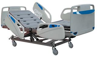 camas articuladas ou de hospital para uso institucional ou hospitalar