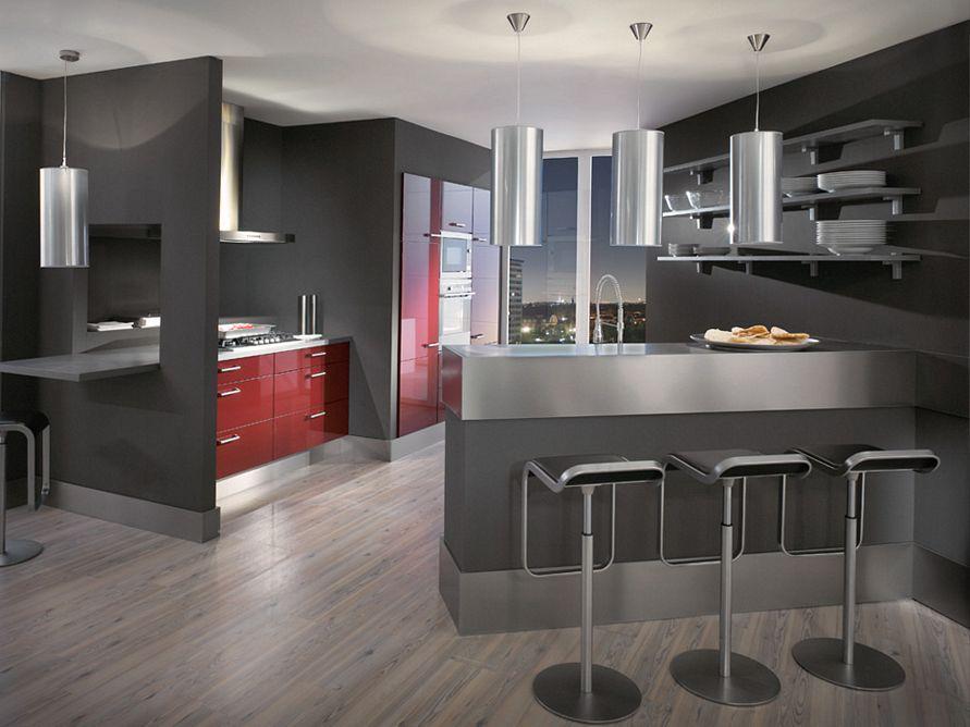 inspirasi desain interior dapur rumah terlihat bagus