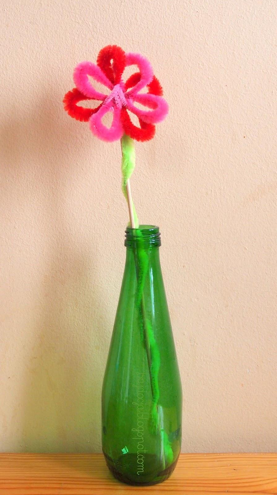 Bajdocja Kwiatek Z Drucikow Kreatywnych