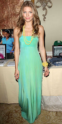 ANNALYNNE MCCORD GREEN MINI DRESS