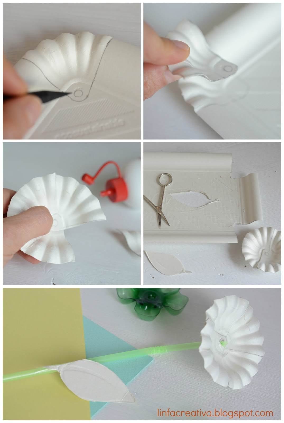 tutorial: fiore di carta