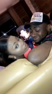 See Photos Of The Ghanaian Lady Said To Be Davido's Latest Beau!