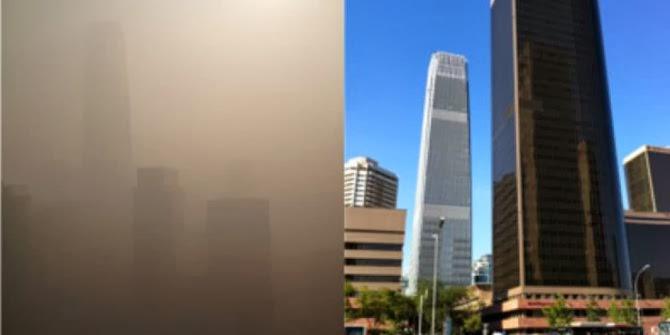 Ide Konyol China Mengatasi Polusi Udara