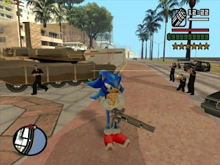 Grand Theft Auto: San Andreas: Rampage V4 Mod Sonic Ps2 Iso Mega Ntsc Descargar Juegos Para PlayStation 2