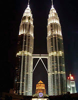 World Travel Agency Travel the world RTW- Family Travel Towers in Kuala Lumpur in Southeast Asia