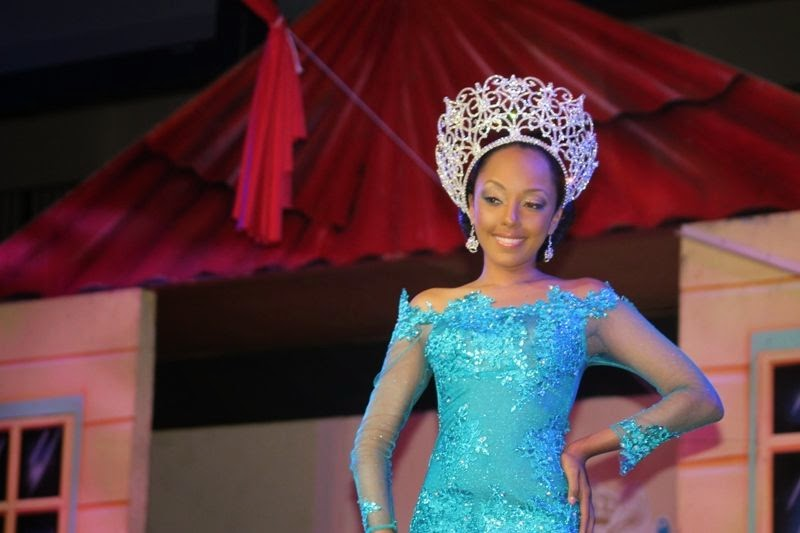 Miss World British Virgin Islands 2014 winner is Rosanna Kathrine Chichester