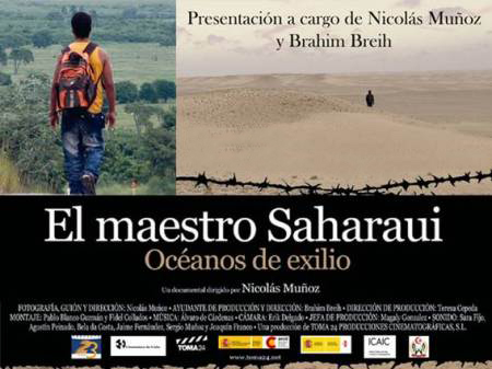 Primera proyección del documental El maestro Saharaui