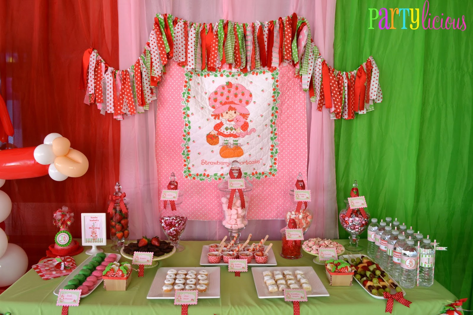 Partylicious Events PR: {Vintage Strawberry Shortcake ...