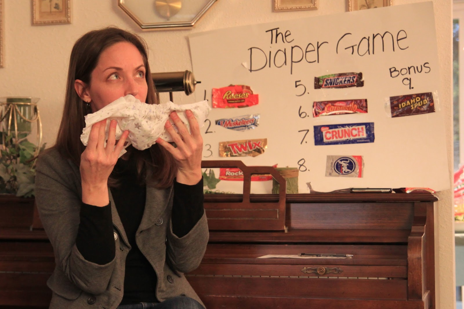 Best Baby Shower Game With Melted Candy Bars Image Collection