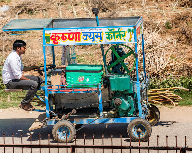 Customized Sugarcane Juice Vehicle