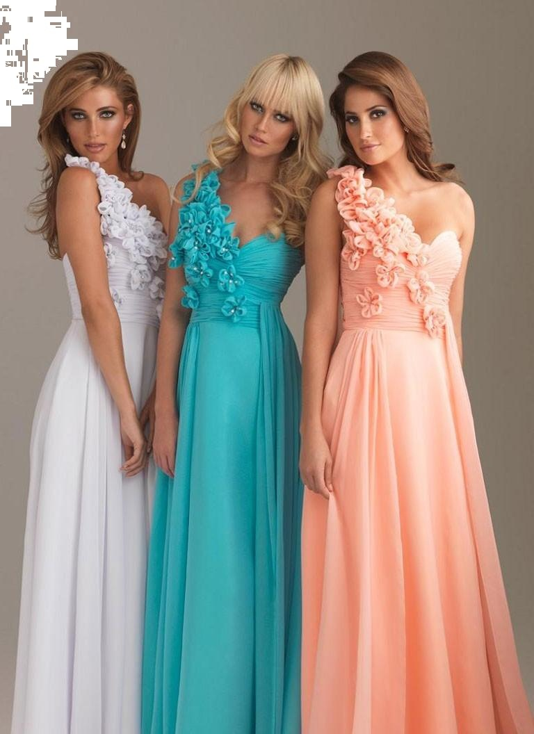 LONG STRAIGHT HAIRCUTS: ONE SHOULDER PROM DRESSES ARE VERY TRENDY