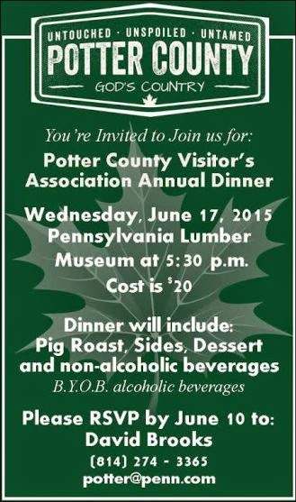6-17 Potter County Visitor's Annual Dinner