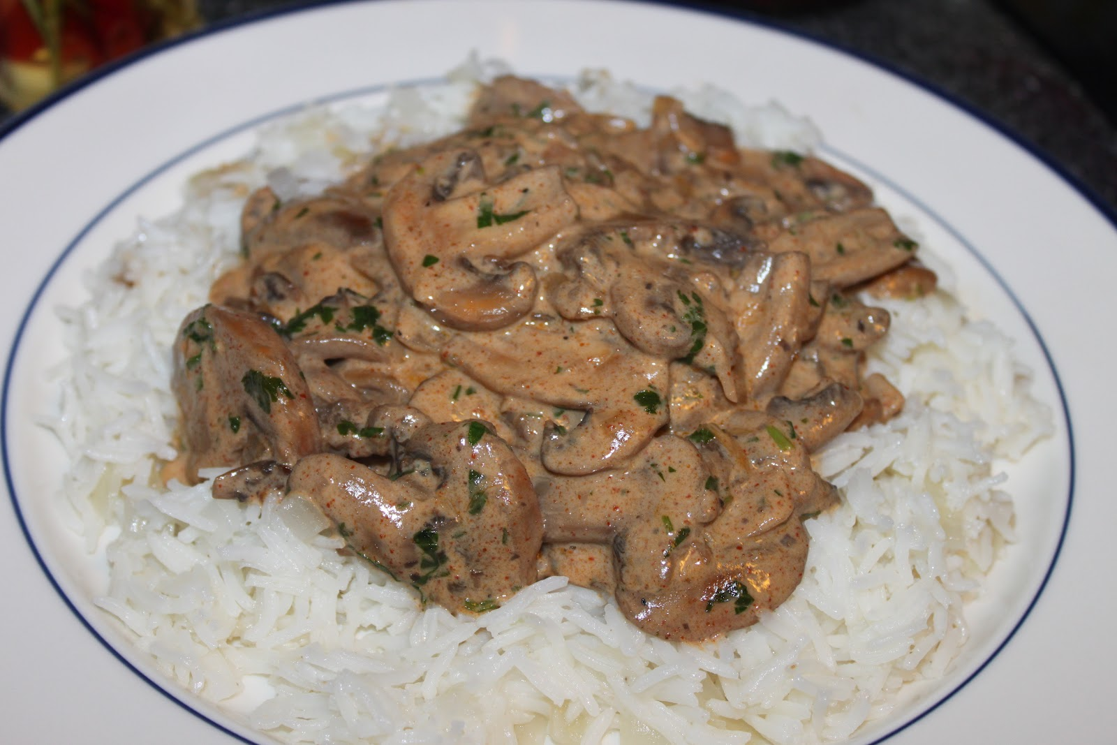 Fresh Off The Boat: Mushroom Stroganoff
