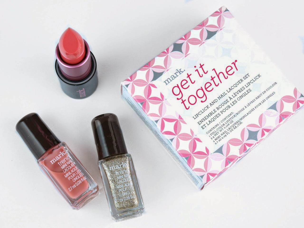 Mark Get It Together LipClick & Nail Lacquer Set: Review and Swatches