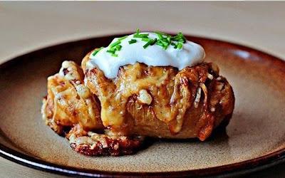 Inilah cara membuat ubi kentang bakar yang menyelerakan