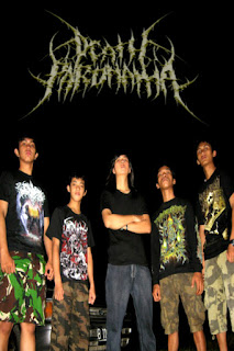 Death Paronama Band Melodic Death Metal / Metalcore Bogor Jawa Barat Indonesia Foto Personil Logo Artwork Cover Wallpaper