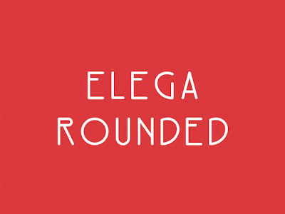 Elega Rounded Fonte