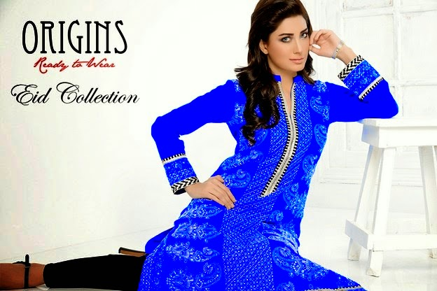 Origins Ready to Wear Eid Dresses 2014