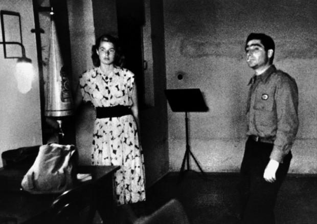 Robert Capa e Ingrid Bergman