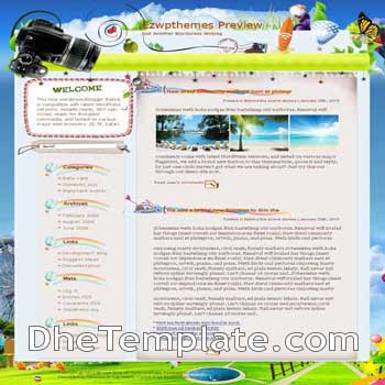 A Feast after A Fasting blogger template