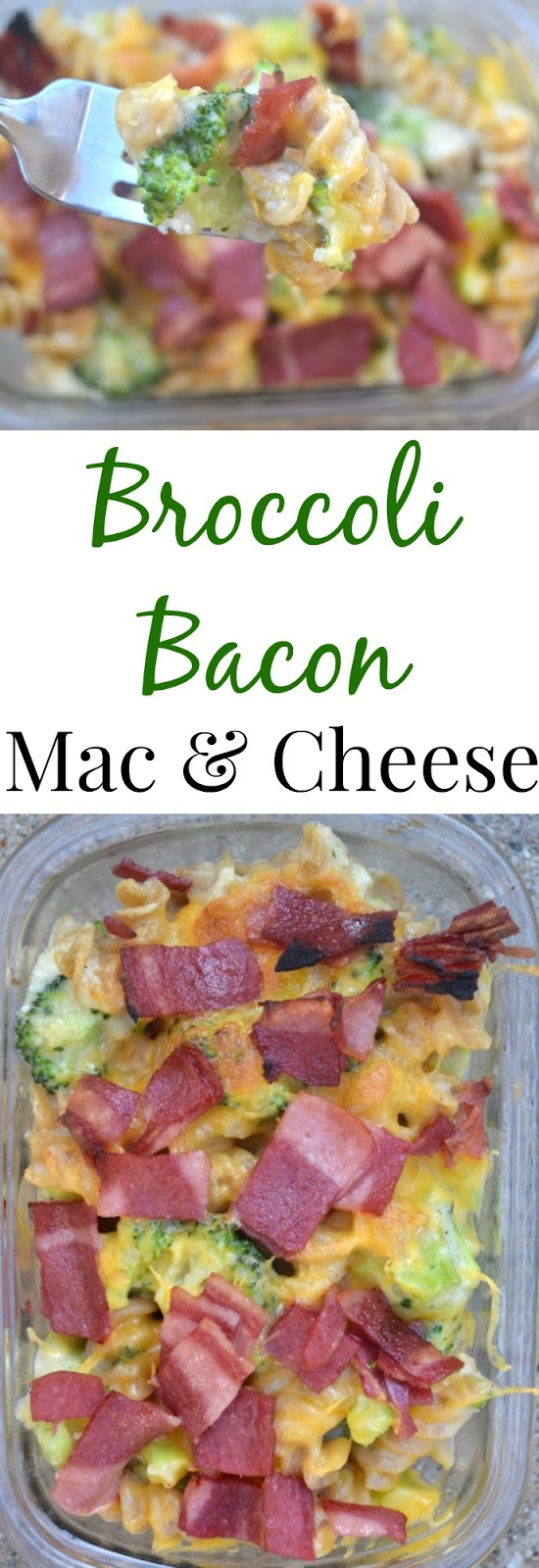 Broccoli Bacon Mac and Cheese- made lighter with a creamy cauliflower sauce and turkey bacon. www.nutritionistreviews.com