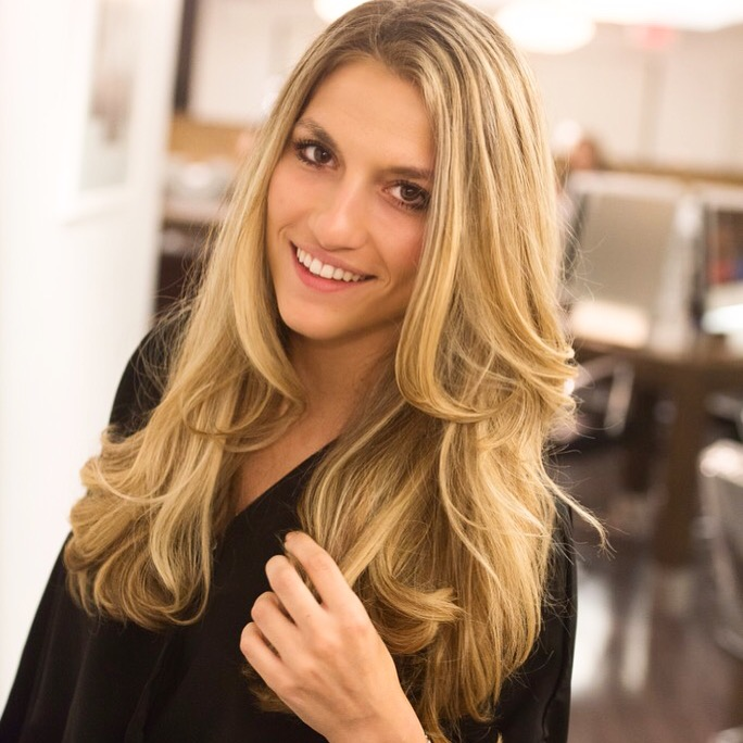 dressed for dreams in, tracey cunningham highlights, cutler hair salon, nyc highlights, redken blonde idol