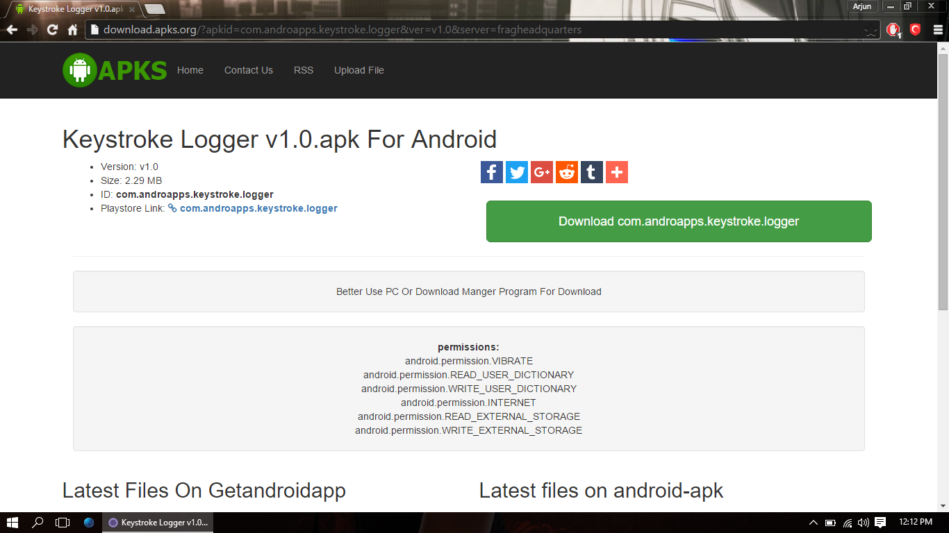 android keylogger no root