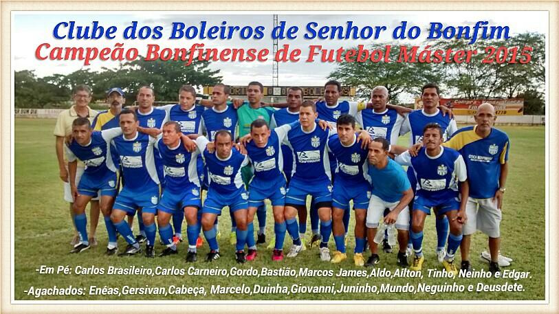 CAMPEÃO BONFINENSE 2015