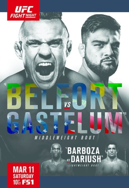 Watch UFC Fight Night 106 Belfort vs Gastelum Online Free Putlocker