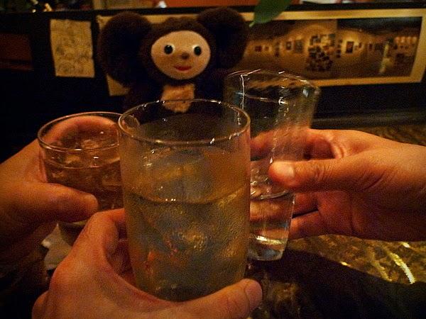 四条大宮「スピナーズ」 ウイスキー水割り