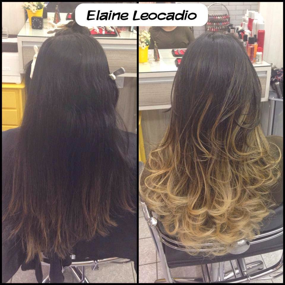 Técnicas OMBRÉ HAIR - Antes e Depois!!! Resultado Top....