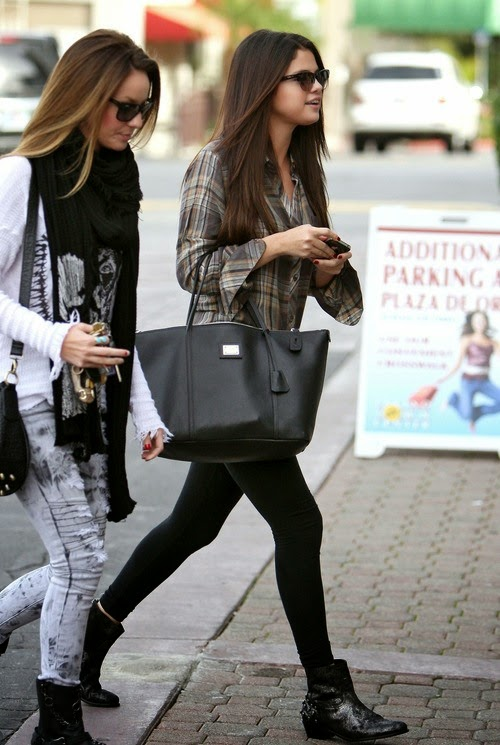 My own kind ariana grande vs selena gomez Fashion celebrity street style