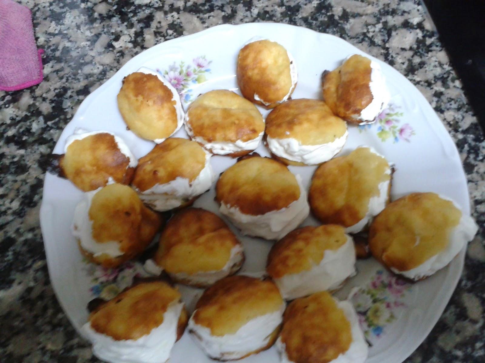 La cocina de beli profiteroles for Cocina 5 ingredientes jamie