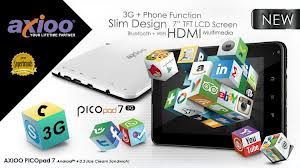 Axioo PicoPad 7 3G GGM Harga dan Spesifikasi