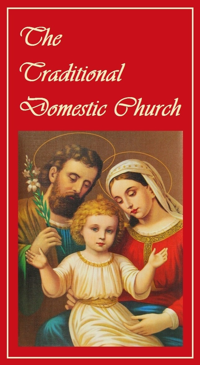 The Domestic Church is promoted by the F.S.S.P. & H.E. Raymond Cardinal Burke
