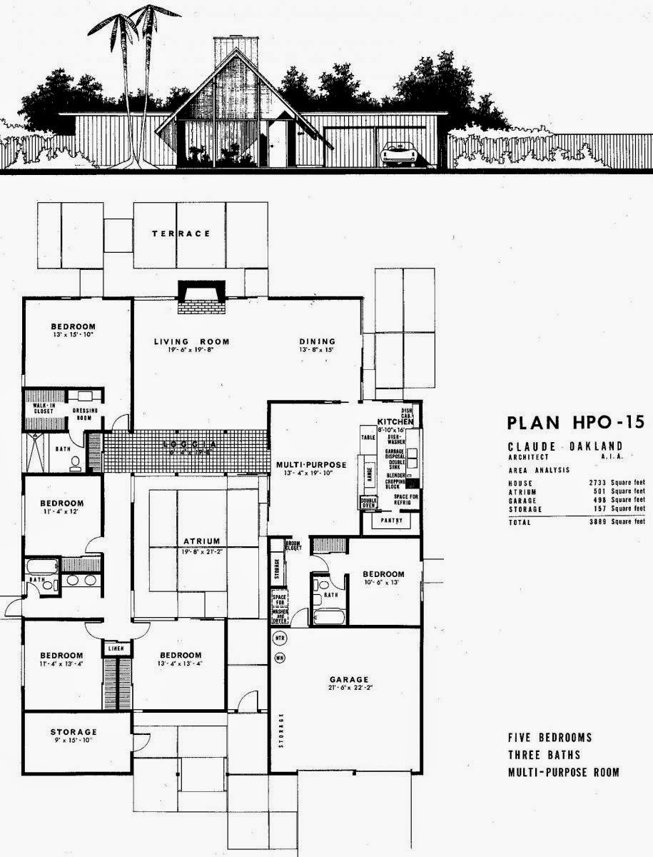 The model citizen the garage for Eichler house plans