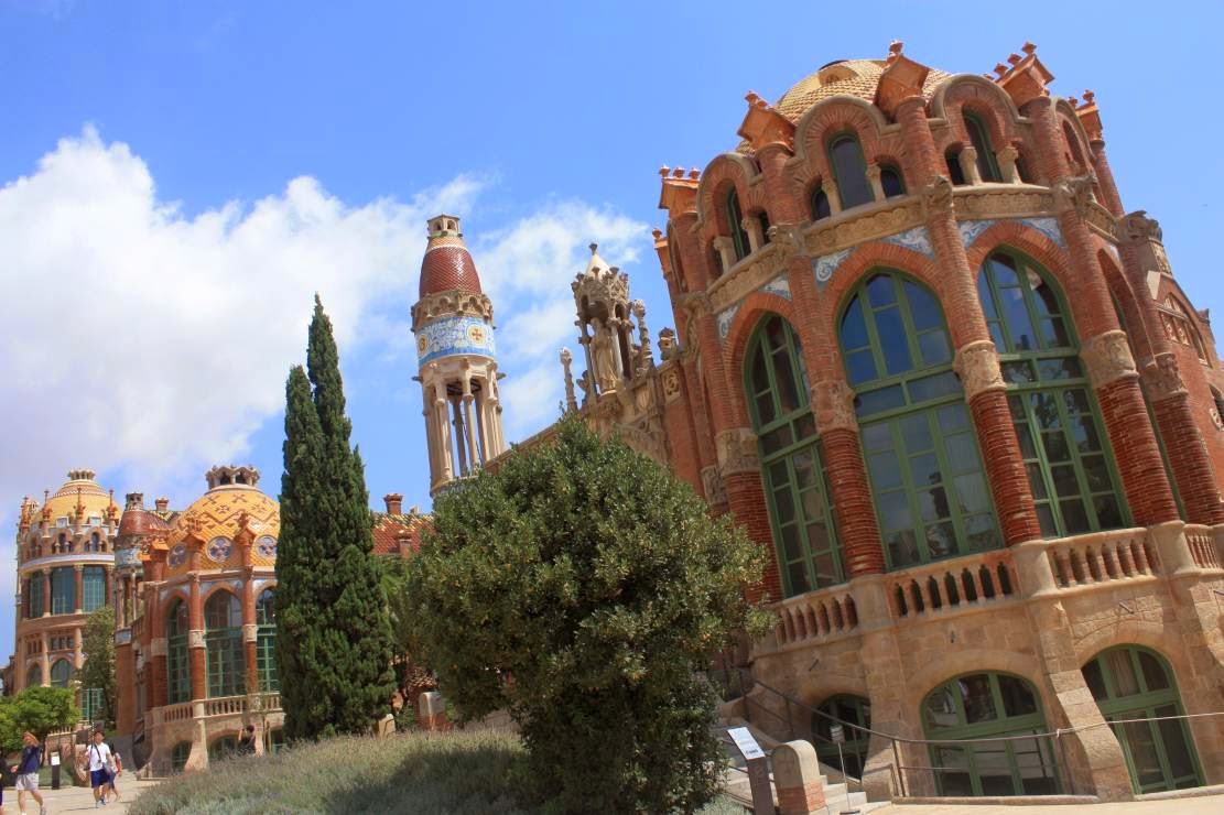 Modernist pavilion of Hospital de Sant Pau