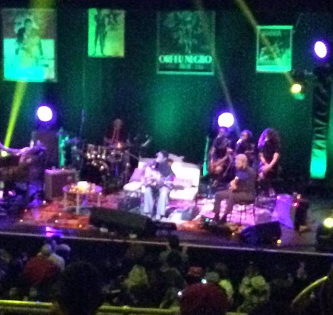 Lauryn HIll at the Wilbur Theater in Boston, March 2015