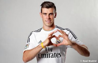 Foto bale real madrid 1 Foto Gareth Bale Berkostum Real Madrid