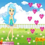 لعبة تلبيس الفتاة الصغيرة الجميلة