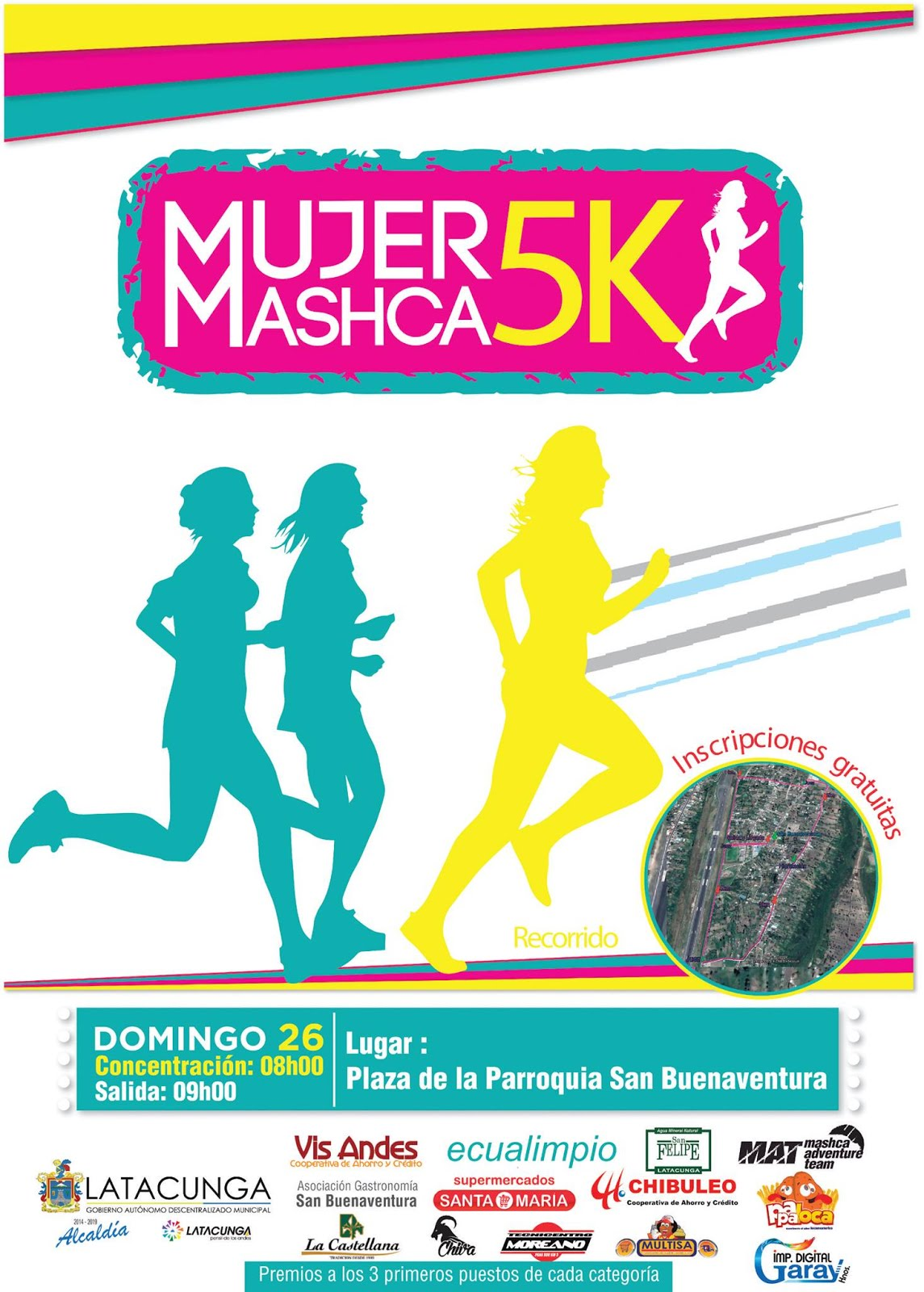 MUJER MASHCA 5K 2017