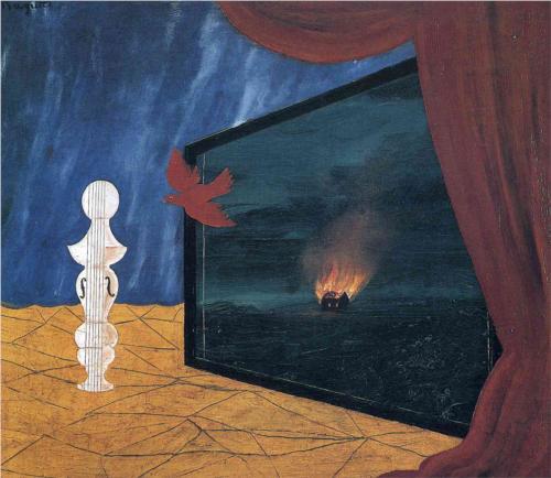René Magritte, Nocturne, 1925