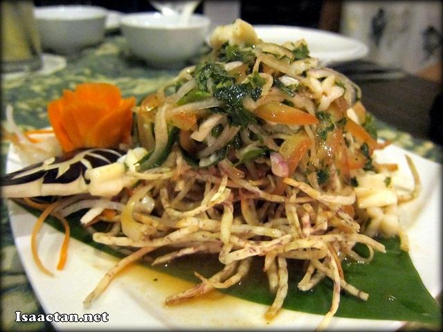 Vietnamese Yam Salad