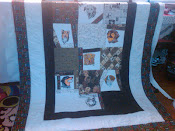 QFC Boy&#39;s Home Dog Quilt #4