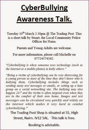Cyberbullying awareness 10th March