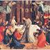 Gambar dalam KKGK – Yesus Memberikan Komuni Kudus kepada Para Rasul