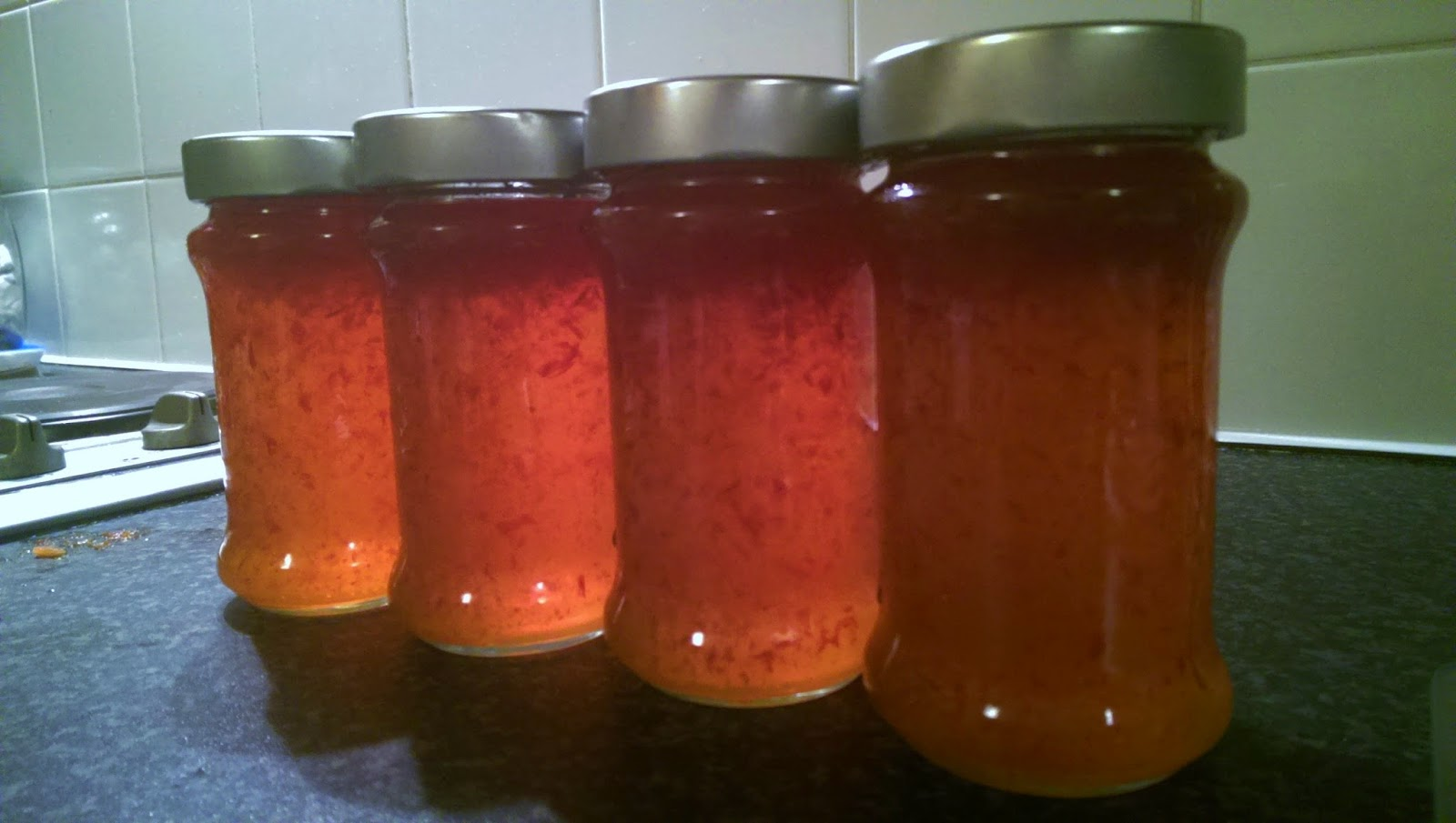 the pop culture cynic tpcc chilli jam finished cooling