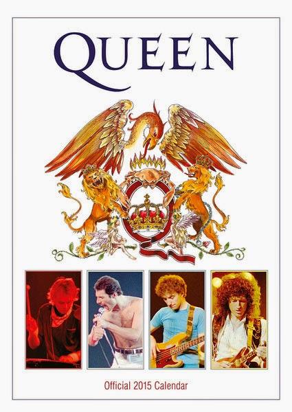 Calendario Grupo Queen 2015